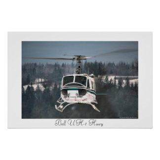 Bell UH-1 Huey Poster