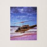 Bell UH-1H Huey Puzzle Con Fotos