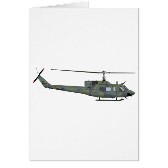 Bell UH-1N 455455 Card