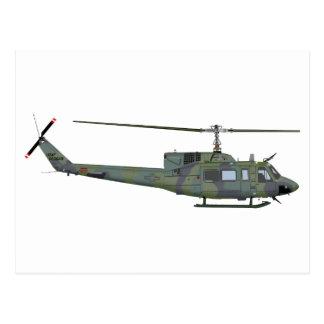 Bell UH-1N 455455 Postcard