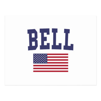 Bell US Flag Postcard