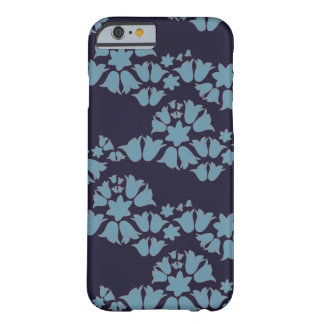 bell wave blue bells on navy background barely there iPhone 6 case