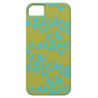 bell wave sea foam green bluebells on germ iPhone 5 cases