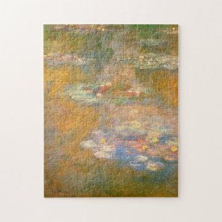 Bella arte 1908 de los lirios de agua de Monet Puzzle