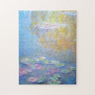 Bella arte 1908 de los lirios de agua de Monet Rompecabeza