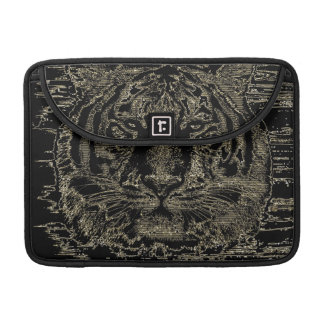 Bella arte 2 del tigre - mangas de Macbook Funda Para Macbook Pro