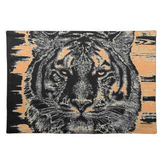 Bella arte 2 del tigre - Placemats Manteles Individuales