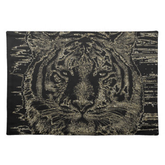 Bella arte 3 del tigre - Placemats Mantel Individual