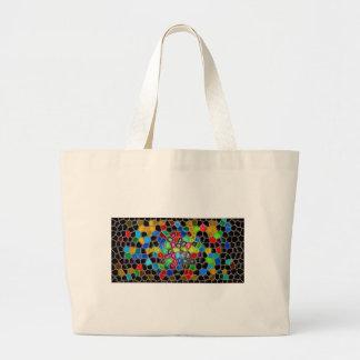 bella arte abstracta moderna de las pinturas de la bolsas de mano