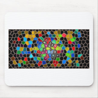 bella arte abstracta moderna de las pinturas de la tapetes de ratón
