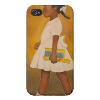 Bella arte afroamericana iPhone 4 carcasa