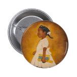 Bella arte afroamericana pin