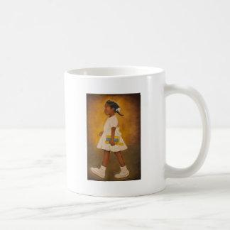 Bella arte afroamericana taza clásica
