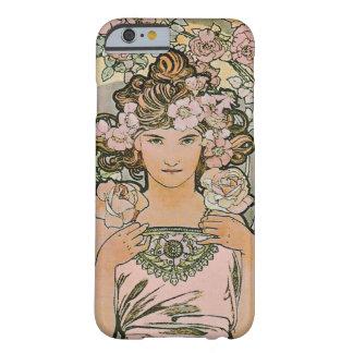 Bella arte color de rosa del florista funda para iPhone 6 barely there