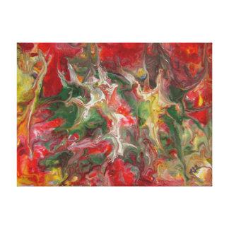 Bella arte contemporánea moderna de la pintura