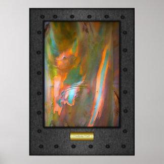 Bella arte - corteza del eucalipto, falso acero
