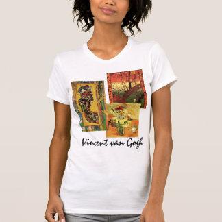 bella arte de 3 diversa de Van Gogh japoneses del Camiseta