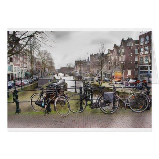 Bella arte de Amsterdam Felicitaciones