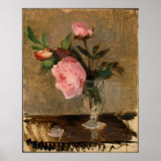 Bella arte de Berthe Morisot de los Peonies Posters