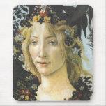 Bella arte de Botticelli de la flora (detalle de Tapete De Ratón