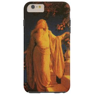 Bella arte de Cenicienta Maxfield Parrish Funda De iPhone 6 Plus Tough