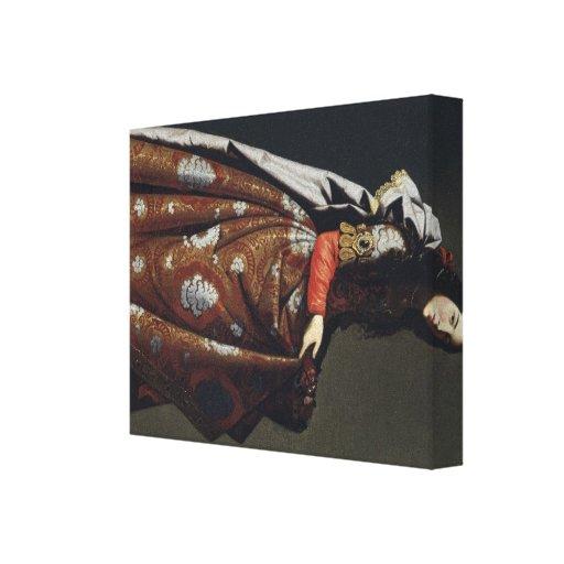 Bella arte de Francisco de Zurbarán Impresión De Lienzo