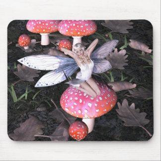 Bella arte de hadas Mousepad Mousemat de la fantas