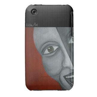 ¡Bella arte de Jocker que pinta el caso del iPhone iPhone 3 Case-Mate Fundas