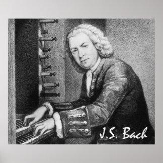 Bella arte de Johann Sebastian Bach Póster