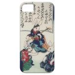 Bella arte de la epidemia del conejo de Kuniyoshi  iPhone 5 Cárcasas
