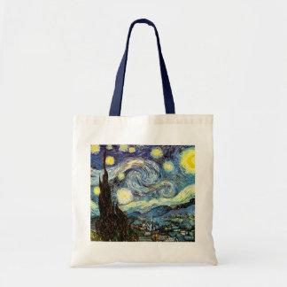 Bella arte de la noche estrellada de Van Gogh