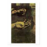 Bella arte de las manos de Van Gogh dos (F66) Tarjeta Postal