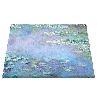 Bella arte de los lirios de agua de Monet Les