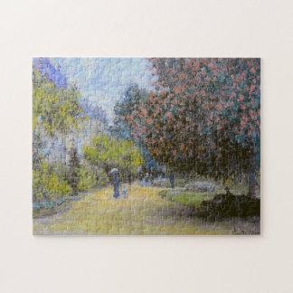 Bella arte de Monceau Monet del parque Puzzles Con Fotos