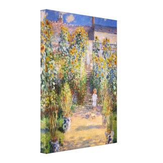 Bella arte de Monet Impresión De Lienzo