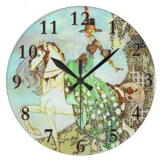 Bella arte de princesa Minon Minette Kay Nielsen Relojes