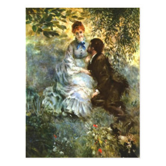 Bella arte de Renoir Tarjeta Postal