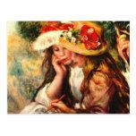 Bella arte de Renoir Tarjetas Postales