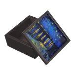 Bella arte de Rhone de la noche estrellada de Van  Caja De Joyas De Calidad