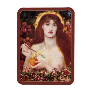 Bella arte de Rossetti Venus Verticordia CC0701 Imán De Vinilo