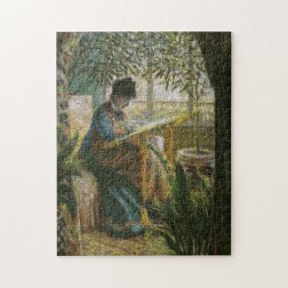Bella arte de señora Monet Monet Puzzle