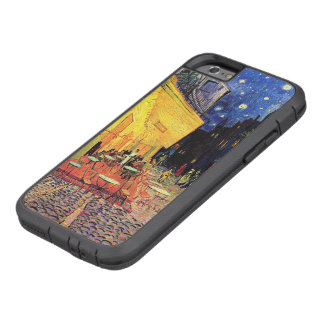 Bella arte de Terrace Place du Forum Van Gogh del Funda Para iPhone 6 Tough Xtreme