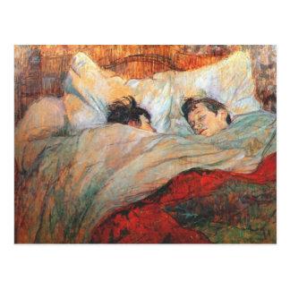 Bella arte de Toulouse Lautrec Postal