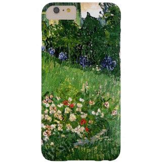 Bella arte de Van Gogh del jardín de Daubigny Funda Barely There iPhone 6 Plus