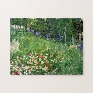 Bella arte de Van Gogh del jardín de Daubigny Puzzle