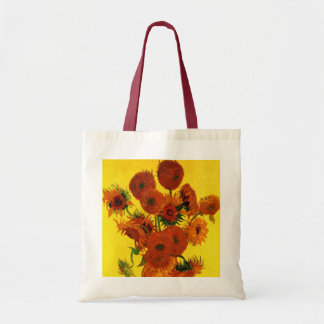 Bella arte de Van Gogh, florero con 15 girasoles