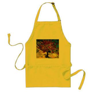 Bella arte del árbol de mora de Van Gogh F637 Delantal