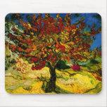 Bella arte del árbol de mora de Van Gogh (F637) Mouse Pad