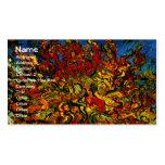 Bella arte del árbol de mora de Van Gogh (F637) Plantilla De Tarjeta De Negocio