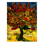 Bella arte del árbol de mora de Van Gogh (F637) Tarjeta Postal